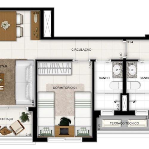 Q-liverpool-Apto-Manaus-planta-Apartamento-69m2