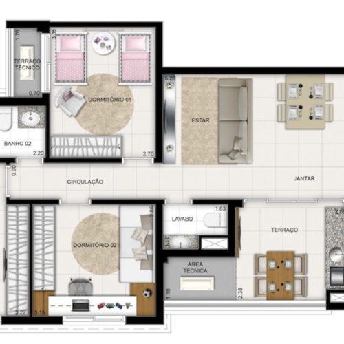 R-liverpool-Apto-Manaus-planta-Apartamento-90m2