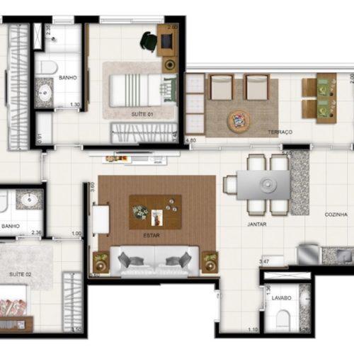 S-liverpool-Apto-Manaus-planta-Apartamento-113m2