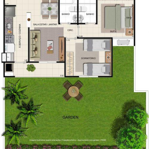 Prime-Arena-Apartamento-Manaus-planta-apartamento-garden